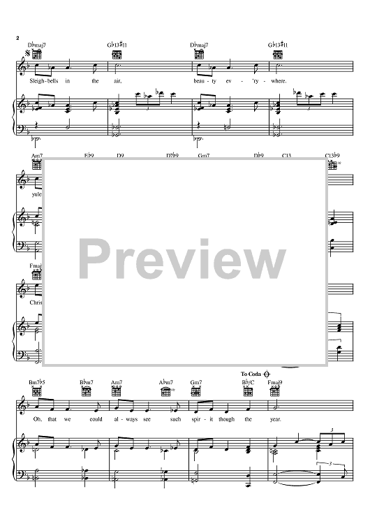 """Buy """"Christmas Time Is Here"""" Sheet Music by Vince Guaraldi for Piano/Vocal/Chords"""