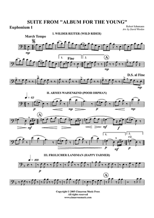 "Suite from ""Album for the Young"" - Euphonium 1 BC/TC"