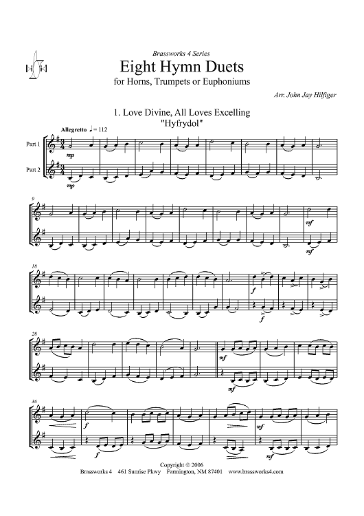 Eight Hymn Duets