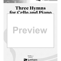 Three Hymns for Cello and Piano