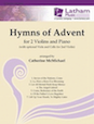 Hymns of Advent for 2 Violins and Piano