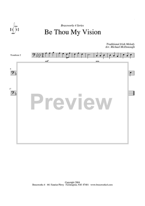 Be Thou My Vision - Trombone 2