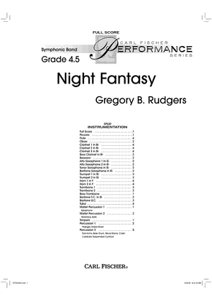 Night Fantasy - Score
