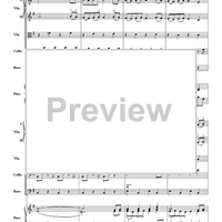 Chant, Chorale And Dance - Score