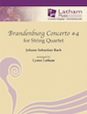 Brandenburg Concerto No. 4 for String Quartet - Cello