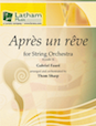 Apres un reve for String Orchestra - Double Bass
