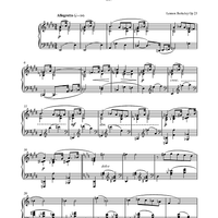 Prelude No. 4 (from Six Preludes)