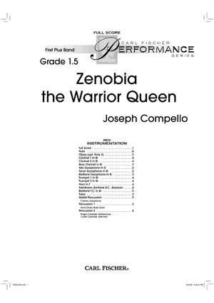 Zenobia the Warrior Queen - Score