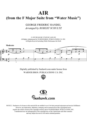 "Air, from Suite in F Major from ""The Water Music"""