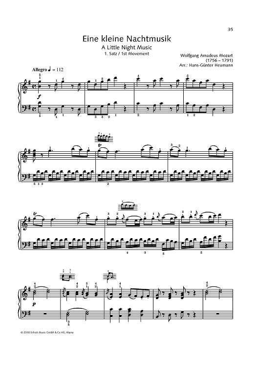 A Little Night Music - 2nd movement