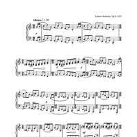 Five Short Pieces, No.5, Op.4