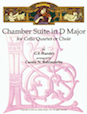 Chamber Suite in D Major for Cello Quartet or Choir - Cello 4