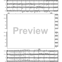 "Movement 1 from ""Divertimento No. 1 in B-flat"" - Score"