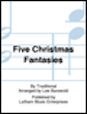 Five Christmas Fantasies for Cello and Piano