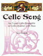 Cello Song for Cello Quintet or Cello Quartet with Bass - Cello 5 or Bass