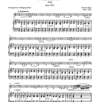 Pomp and Circumstance - Military March No. 1, Trio, Op. 39 No. 1