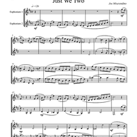 Just We Two - Euphoniums TC