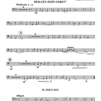 Two Keyboard Pieces - Tuba