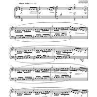 Five Piano Improvisations: 3. Allegro Molto