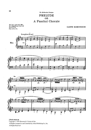 Prelude on A Paschal Chorale