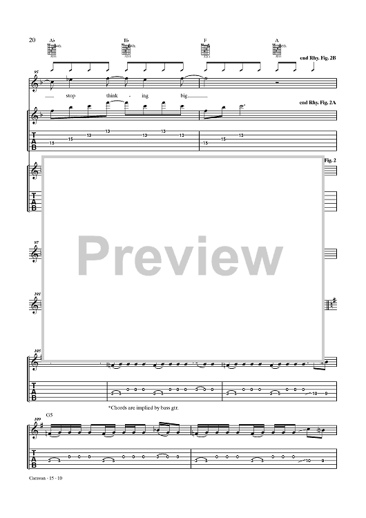 Caravan Sheet Music Now