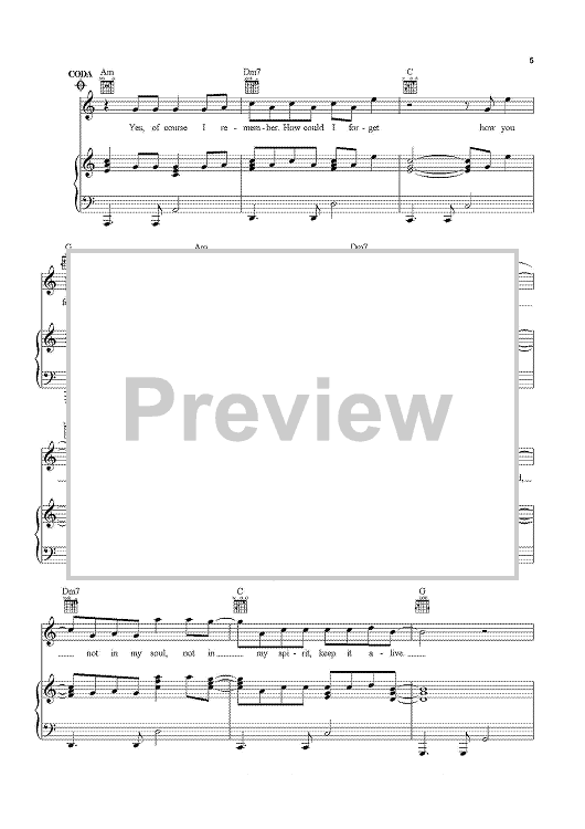 Thinkin\' \'Bout You | Sheet Music Now