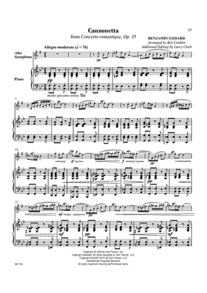 Canzonetta from Concerto romantique, Op. 35