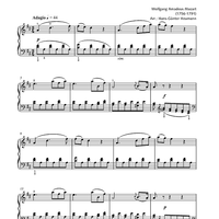 Concerto for Clarinet and Orchestra in A Major K622 - 2nd Movement