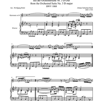 Air from the Orchestral Suite No. 3 D major - BWV 1068