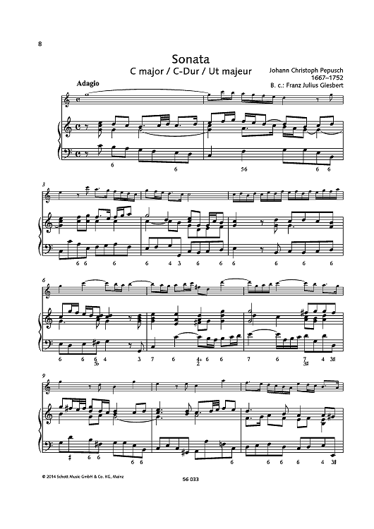 Sonata C major