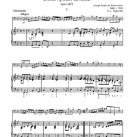 Sonata G minor, Op. 26 No. 5