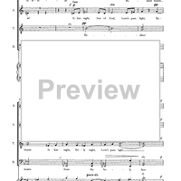 December - Four Seasonal Settings for SATB Chorus (a capella)