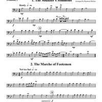 "Five Pieces From ""The Battell"" - Trombone 2"