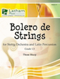 Bolero de Strings for String Orchestra and Latin Percussion - Bass