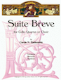 Suite Breve for Cello Quartet or Choir - Cello 4