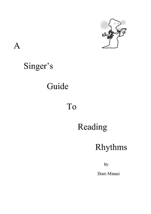 A Singer's Guide to Reading Rhythms