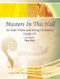 Masters In This Hall for Solo Violin and String Orchestra - Bass