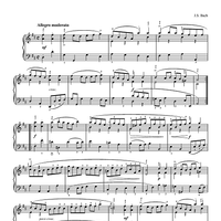 Gavotte (from Suite No. 6 in D Major for Unaccompanied Cello)