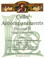 Cello Accompaniments - Volume 2
