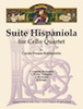 Suite Hispaniola for Cello Quartet - Cello 4