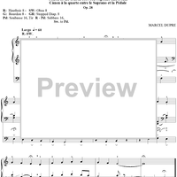 "Jesus on the Cross, from ""Seventy-Nine Chorales"", Op. 28, No. 16"