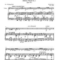 Pomp and Circumstance - Military March No. 1 - opus 39/1