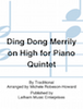 Ding Dong Merrily on High - Five Carol Favorites for Piano Quintet - Cello