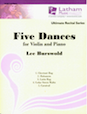 Five Dances for Violin and Piano