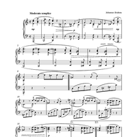 Intermezzo in A Minor (from Eight Piano Pieces, Op. 76, No. 7)