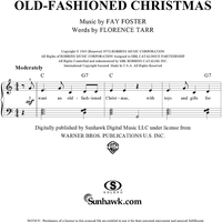 I Want an Old-Fashioned Christmas