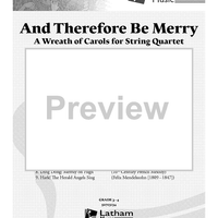 And Therefore Be Merry - Score