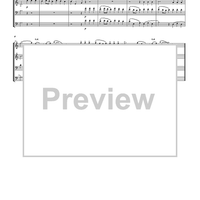 Allegro Maestoso - Water Music - Score