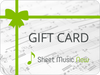 Sheet Music Now Gift Card