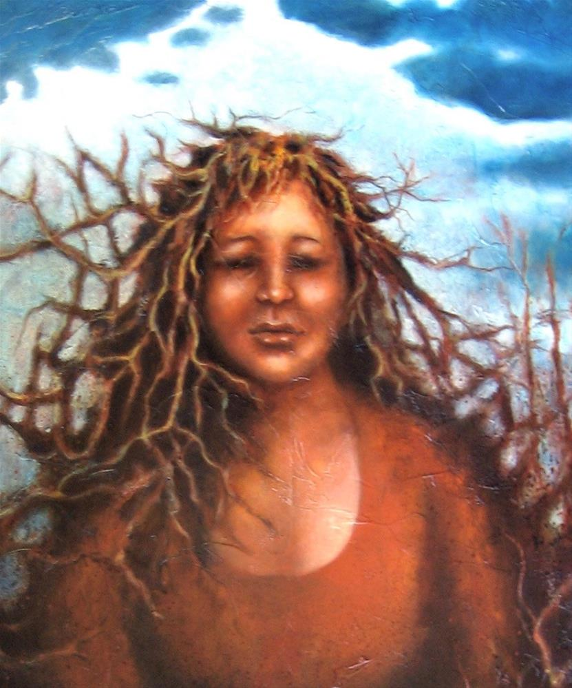 mother earth painting, mother earth artwork,